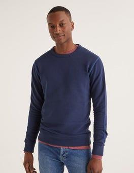 Helles Navy Ashbourne Sweatshirt