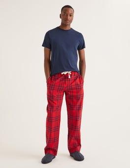Rio Red Check Flannel Pajama Bottoms