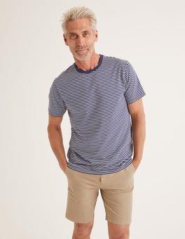93abf037db06 Navy/Ivory Stripe Washed T-shirt