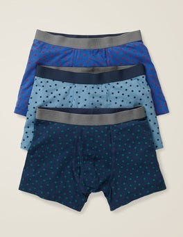 Blues Spot Multi Pack 3 Pack Jersey Boxers