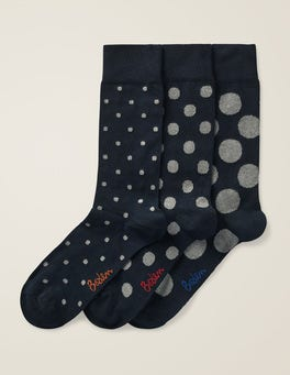 Multi Spot pack Favourite Socks