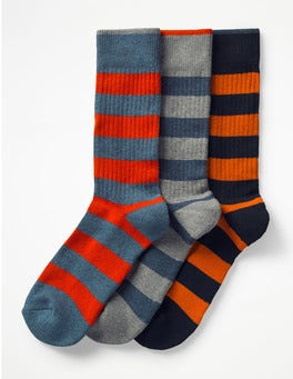 Chunky Stripe Pack Chunky Weekend Socks