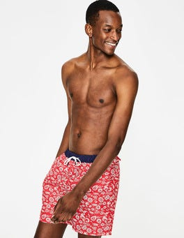 Rio Red Floral Swimshorts