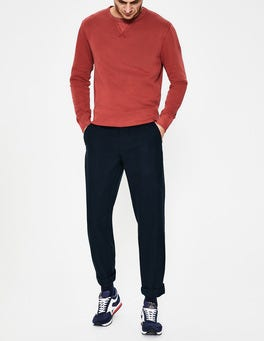 Navy Malvern Casual Trousers