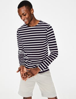 Navy/ Snowdrop Stripe Chichester Mariner