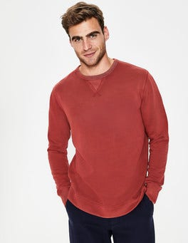 Cayenne Pepper Mallory Garment Dye Sweatshirt
