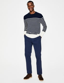 Light Navy Lightweight Chinos