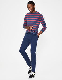 Light Navy Lightweight Slim Chinos
