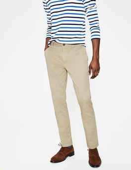 Stone Lightweight Slim Chinos