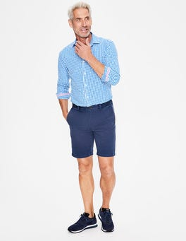 Light Navy Chino Shorts