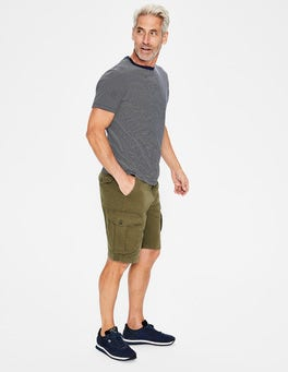 Kiwi Green Cargo Shorts