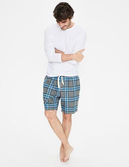 Flannel Pajama Shorts