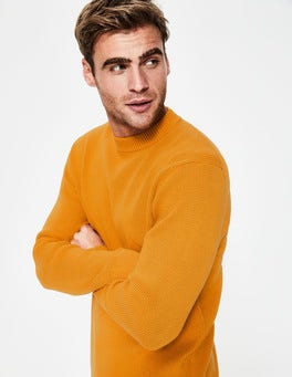 Dark Gold Greenwich Crew Neck
