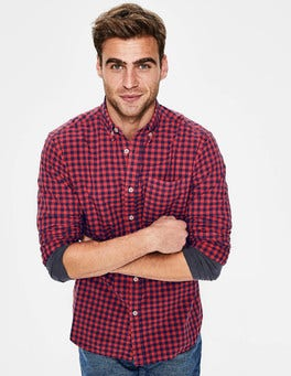 Slim Fit Garment-dyed Shirt