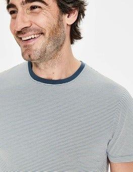 Ecru/Oceania Stripe Washed T-shirt