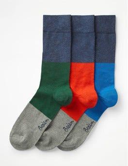 Colour Block Pack Favourite Socks