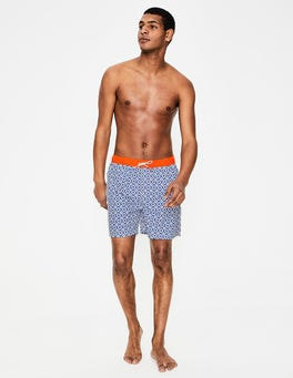 Duke Blue Geo Swimshorts