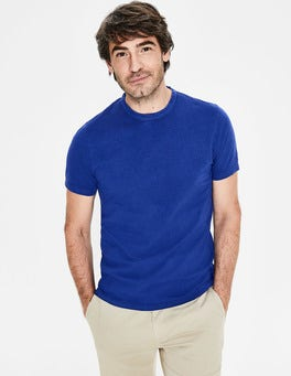Blue Wave Garment-dyed Marl T-shirt