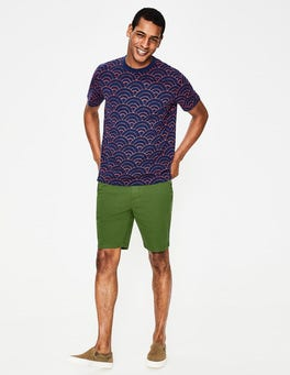 Pitch Green Chino Shorts