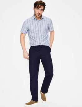 Navy Waveney Drawstring Chinos