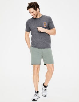 Succulent Blue Mallory Jersey Shorts