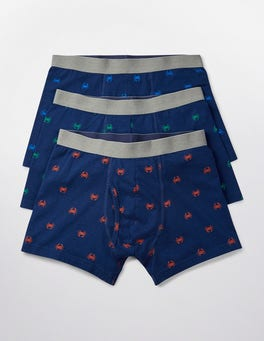 Crab Multi Pack 3 Pack Jersey Boxers