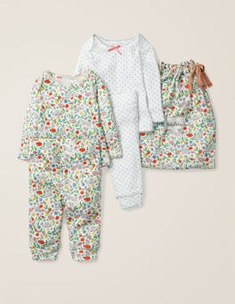 Multi Wild Bunnies Bunnies Cosy Pointelle Pack