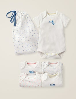 Ivory Baby Whales 5 Pack Whales Bodies