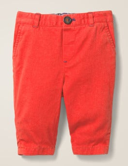 Popperdew Red Chino Pants