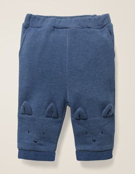 Elizabethan Blue Marl Fox Fox Knee Bottoms