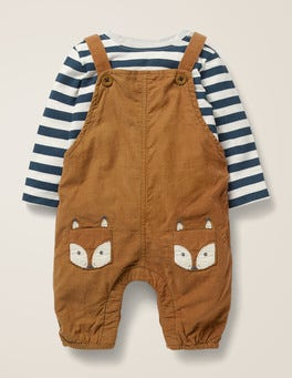 Cord Dungaree Play Set