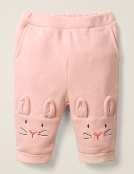 Chalky Pink Marl Bunnies Bunny Knee Bottoms