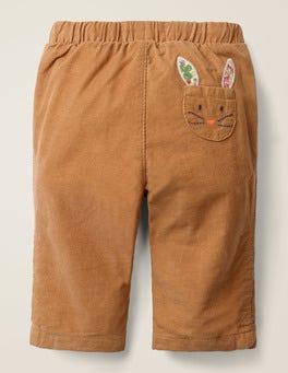 Slim Cord Trouser