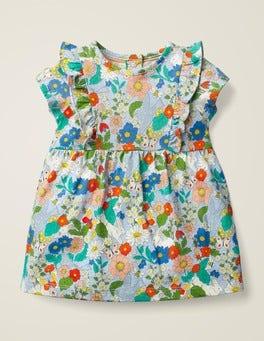Multi Baby Florabunda Printed Jersey Dress
