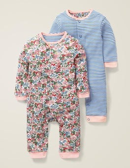 Floral Twin Pack Rompers