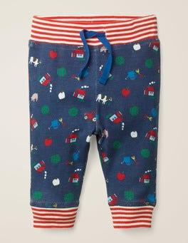 Starboard Blue Farm Reversible Jersey Pants