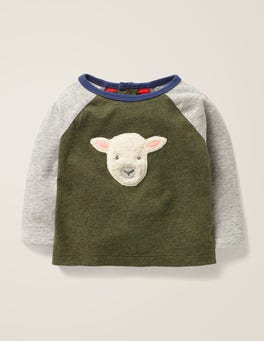 Rosemary Green Sheep Farmyard Friends T-Shirt
