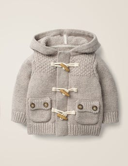 Knitted Duffle Jacket