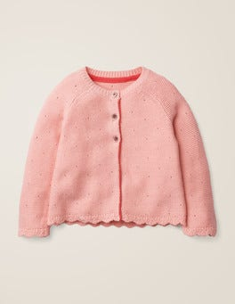 Chalky Pink Cosy Cardigan