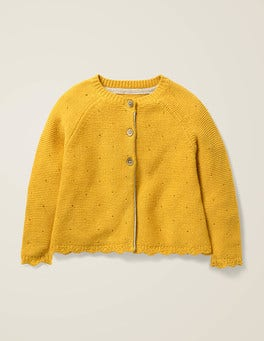 Mellow Yellow Cosy Cardigan