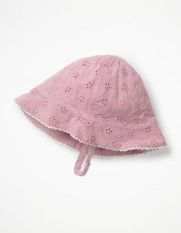 Delphinium Purple Pretty Woven Hat