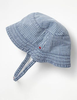 Duke Blue Woven Reversible Hat