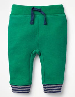Watercress Green Essential Jersey Trousers