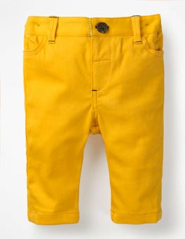 Honeycomb Yellow Colourful Chino Trousers