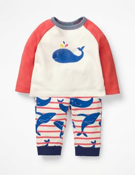 Jam Whale Stripe Fun Jersey Play Set