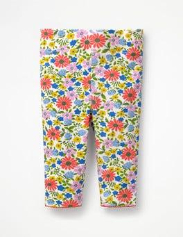 Multi Jolly Floral Baby Leggings