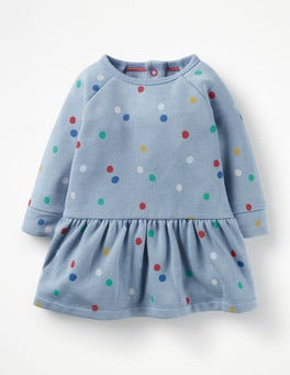 Multi Painted Spot Colourful Cosy Dress