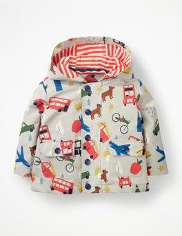 Shale Grey London Bustle 3-in-1 London Raincoat
