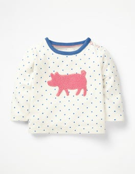 Farmyard Bouclé T-shirt