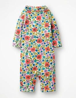 Bunt, Fröhliche Blumen Hübscher Surfanzug